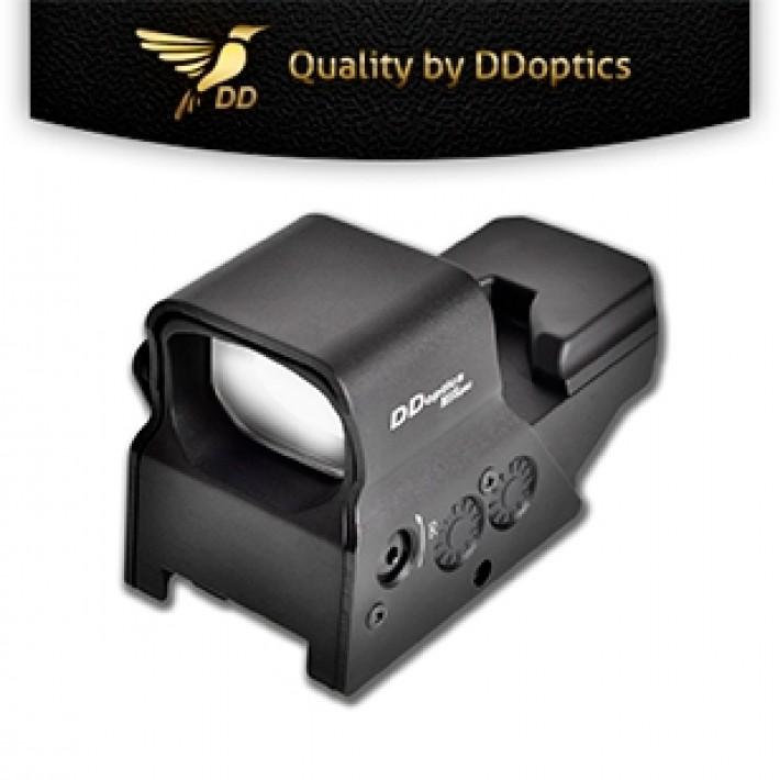 Visor reflex DDoptics DDsight MilSpec con retícula de 2 MOAs