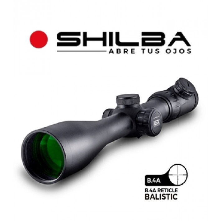 Visor Shilba Gold Medal 3-18x50 de 50mm con retícula B.4A Ballistic