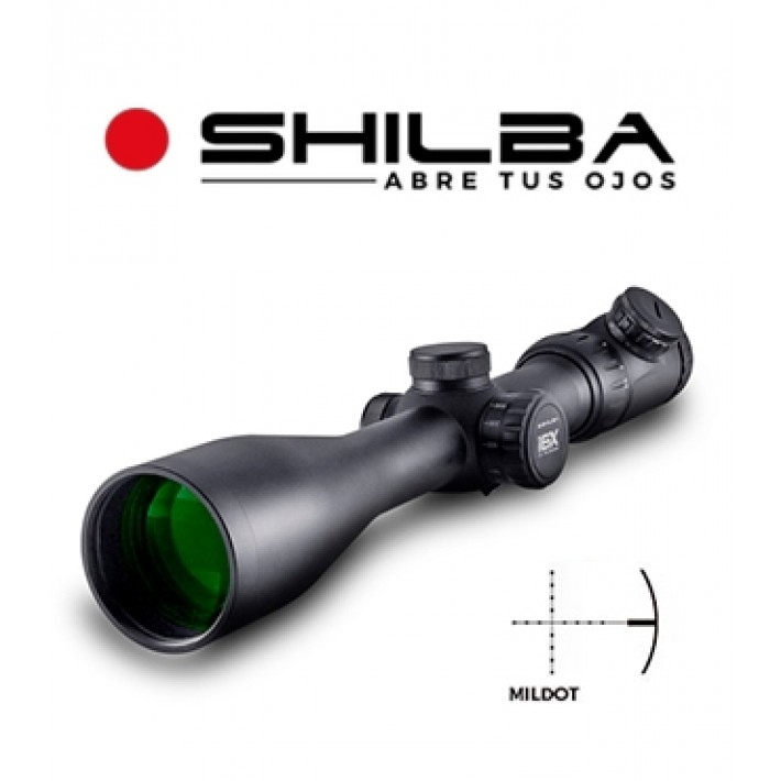 Visor Shilba Gold Medal 5-30x56 de 50mm con retícula Mil Dot