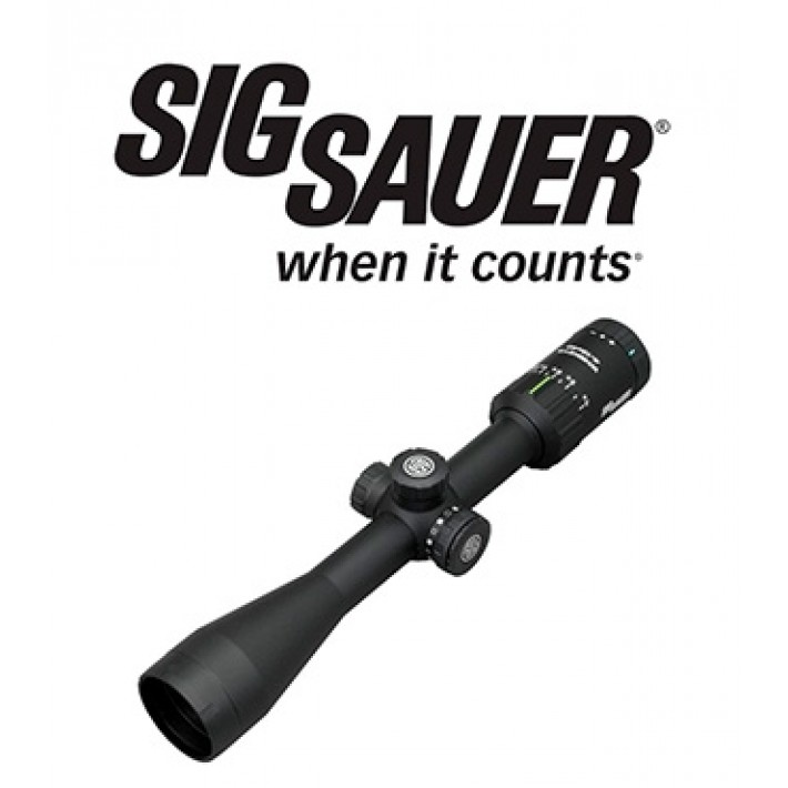 Visor Sig Sauer Electro Optics Whiskey 3 4-12x40