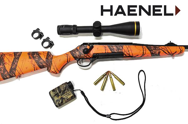 Haenel J10 Orange Camo con accesorios