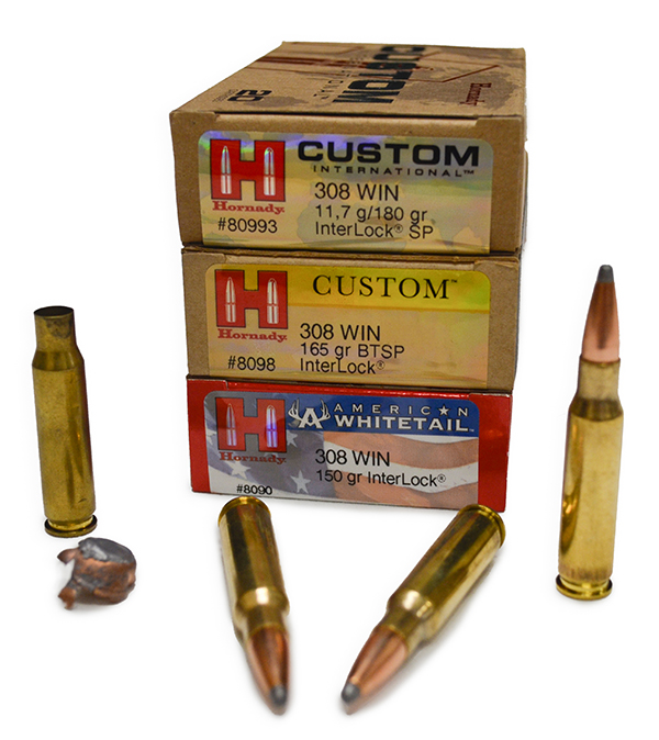 Munición Hornady Interlock .308 Win