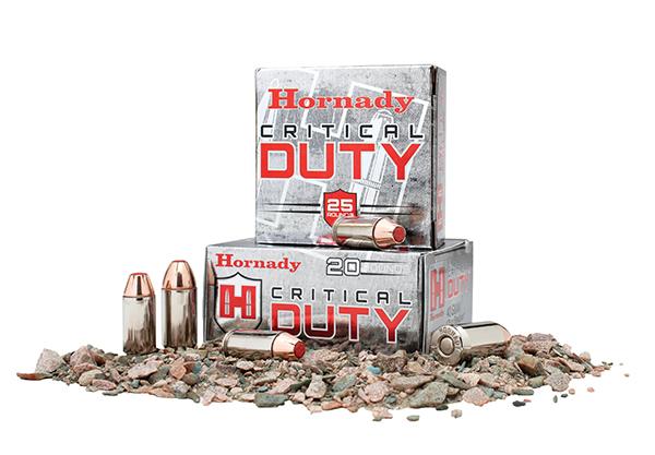 Munición Hornady Critical Duty, elegida por el FBI