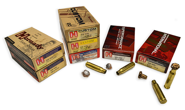 Gran variedad de munición Hornady