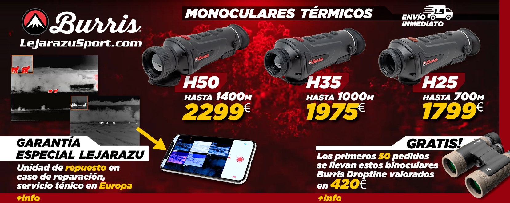 Comprar Térmicos Burris en LejarazuSport.com