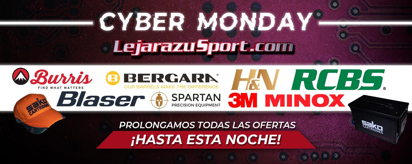 Alargamos las ofertas por el Cyber Monday en LejarazuSport.com