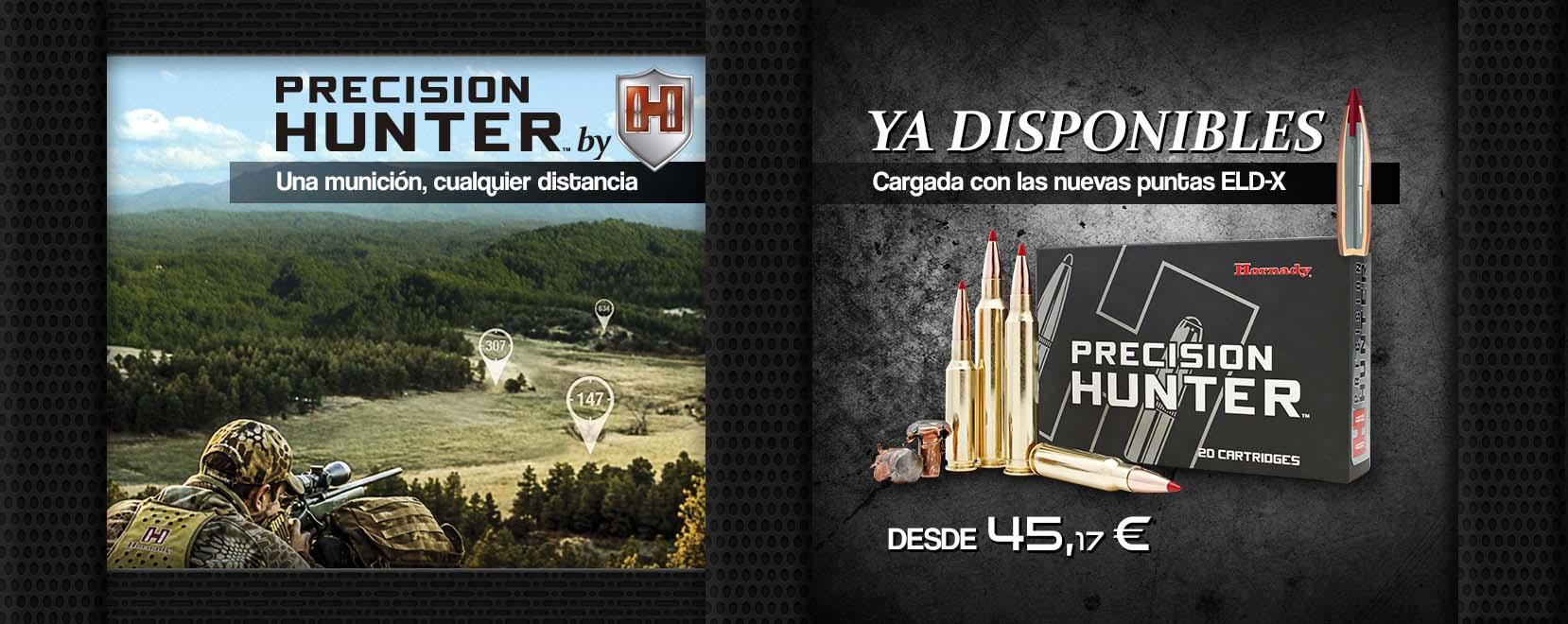 Munición Hornady Precision Hunter con puntas ELD-X