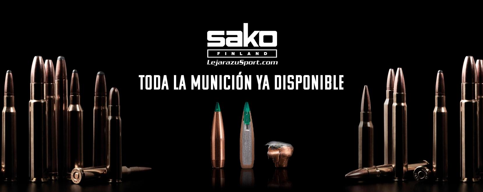 Comprar munición Sako en LejarazuSport.com